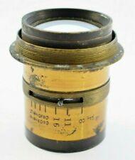 Vintage Half Plate Portrait Lens f/64 Beautiful 55mm Brass Lens        #SA49-3