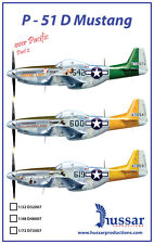 P-51D Mustang 1/48 scale 48007 Hussar Productions decals