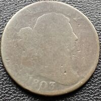 1803 Large Cent 1/000 Draped Bust One Cent circulated ERROR #3351