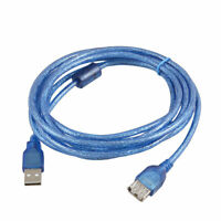 PC Ordenador 3M Tipo A macho a hembra cable de extensión largo azul USB 2.0