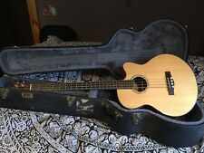 Fender acoustic electric bass Gb41SCE NAT with TKL hard case