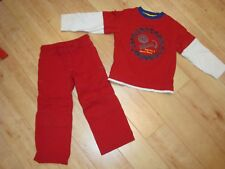 Boy Gymboree Nuts and Bolts Shirt Pants Outfit 4 Nwot