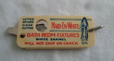 Vintage Kut-No-Chek Cigar Cutter Maid En White Autoyre Oakville CT Smithsonian