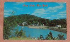Long Lake, New York Postcard
