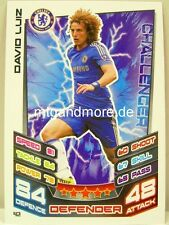 Match Attax 2012/13 Premier League - #042 David Luiz - Chelsea