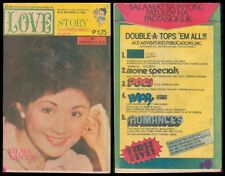 1984 Philippines LOVE STORY KOMIKS MAGASIN Vilma Santos #650 Comics