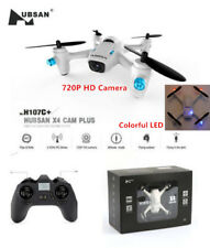 Hubsan H107c X4 Plus 2.4g Mini RC Quadcopter Drone 720p HD Camera RTF (white)