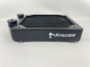Koolance Copper Radiator, 1x120mm Fan, for Pc Water cooling Loop.