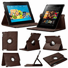 Brown Synthetic Leather Tablet eBook Cases, Covers & Keyboard Folios