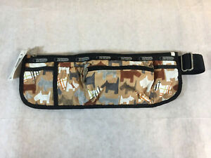 NOS LeSportSac Frieda Waist Bag Fanny Bum Pack DS Rex Print New w/ Tag
