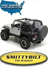 Smittybilt C.RES System Cargo Net 92-95 Jeep Wrangler YJ 521035 Black Diamond
