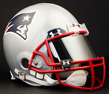 NEW ENGLAND PATRIOTS NFL Football Helmet