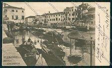 Venezia città Giudecca PIEGA cartolina QK2632