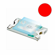 10 x Rosso 0603 SMD Chip LED