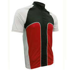 "Mens Ventou ""Division"" Black/Red/White Cycling Jersey Size M New W/Tags RRP $90"