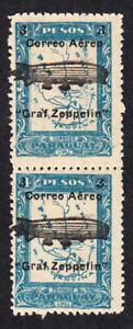 MINT 1931 Paraguay Graf Zeppelin #C54 PAIR MNH Airmail