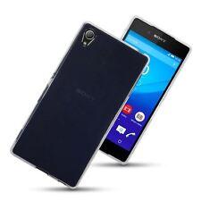 Hybrid TPU Gel Skin Case Cover for Sony Xperia Z3+ Z4 - Clear