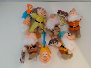 Disney Snow White And The Seven Dwarfs Clip On Toys Mcdonalds Mattel