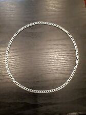 "STERLING SILVER CHAIN 925 19"" SOLID"