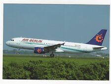 Air Berlin Airbus A320-214 Aviation Postcard, A995