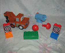 Lego Duplo Disney Cars 5817 Agent Mater - Targets - Complete with Darts