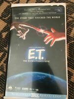 E.T. The Extra Terrestrial VHS movie - Steven Spielberg Film 1996 clamshell
