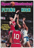 April 7, 1986 Pervis Ellison Louisville Cardinals # 1 Sports Illustrated