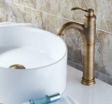 Antique Brass Bathroom Vessel Sink Faucet Tap - Single Hole / Handle Fnf118