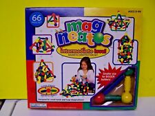 Magneatos 66 Piece Set by Guidecraft  Magnetic Construction Set Mag Neatos G8201