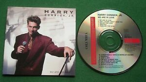 Harry Connick Jr We Are In Love inc Drifting / Just A Boy + CD