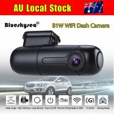 B1W 1080P Mini WiFi Car Dash Crash Camera DVR 360° Rotate Capacitor G-Sensor AU!