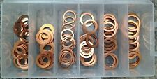 Oil Drain Plugs Gaskets Copper Washer Assortment Kit