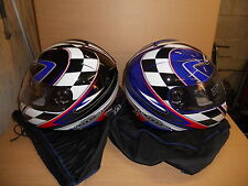 BRAND NEW KBC FULL FACE VENTED CRASH HELMET Size MED LARGE X LARGE £99.99 only
