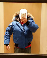 NEW SPECIAL EDITION POLAR BEAR CANADA GOOSE LABEL PBI CHILLIWACK XXL 2XL PARKA