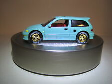 Hot Wheels fully Customized '90 Honda Civic Ef, 1:64 Die cast with rubber tires