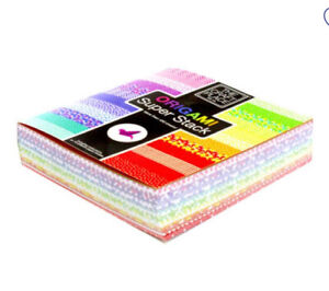 400+ Sheets Origami Paper 15 x 15cm/Different Colours/Designs - The Works