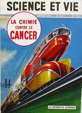 Science et vie n°445 -1954 - Mig - Reptiles - Mines de charbon URSS - Locomotive