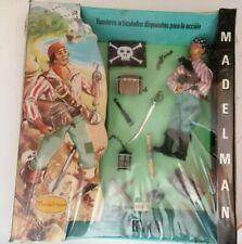 MadelMan Pirata Personaggio e Accessori Made in Spagna Anni '70 Vintage