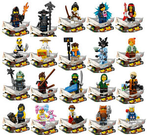 Lego The Ninjago Movie Complete SET OF 20 Brand New 71019 Rare Minifigs 🔴