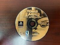 Tomb Raider: The Last Revelation (PS1 PlayStation) - DISC ONLY