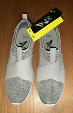 LADIES  F&F ACTIVE GREY CASUAL SLIP ON SHOES SIZE 6.5