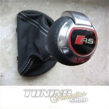 Original TTRS TT-RS DSG Leder Schaltknauf Schalthebel Knauf für Audi TT 8J