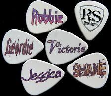 24 X selecciones personalizadas Plectros Guitarra Acústica Eléctrica
