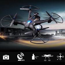 Global Drone X183 Headless WiFi FPV 720P HD Camera GPS Brushless Quadcopter JS
