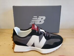 New Balance 327KC Black/White Suede Running and Jogging Sneaker Shoes for Women