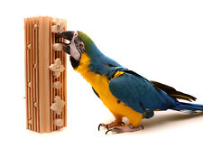 Activity Block - Large Bolt-On Parrot Toy for Macaws and Large Parrots