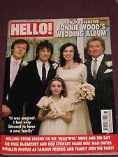 McCARTNEY/ RON WOOD/ ROD STEWART HELLO! REVISTA / MAGAZINE JANUARY 2013
