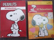 Snoopy and the Peanuts Gang Valentine Children's Cards (2 Boxes)