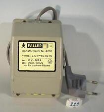 Faller AMS Trafo 4016 für Rennbahn 16 Volt 0,8A 13 VA #229