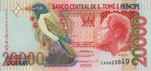 A  SAISIR     BILLET  DE   20  000 DOBRAS    SAO TOME ET PRINCIPE    NEUF   1996